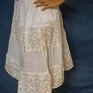 NWT Lucky Charm A-Line Tiered Floral Girls Skirt